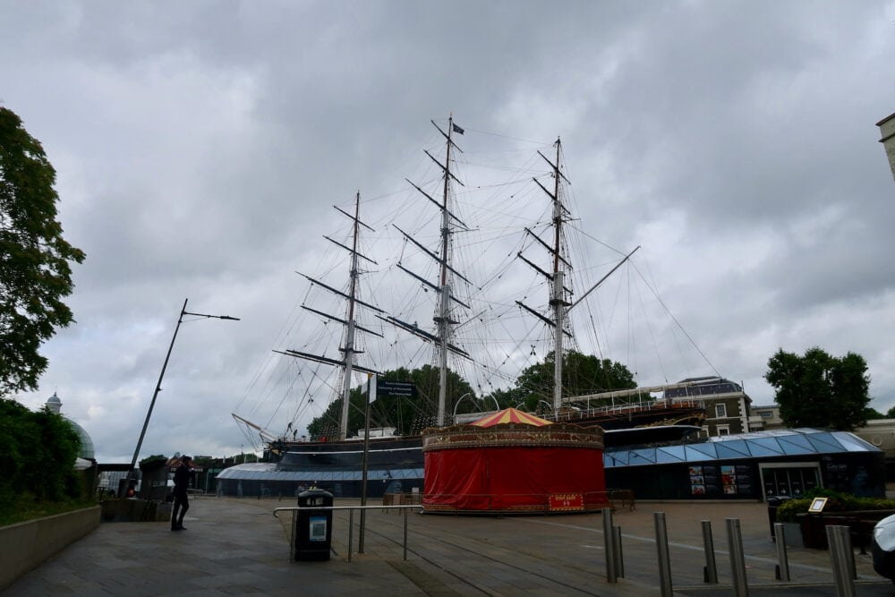 Cutty Sark from outside