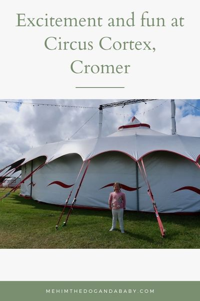 Excitement and fun at Circus Cortex, Cromer