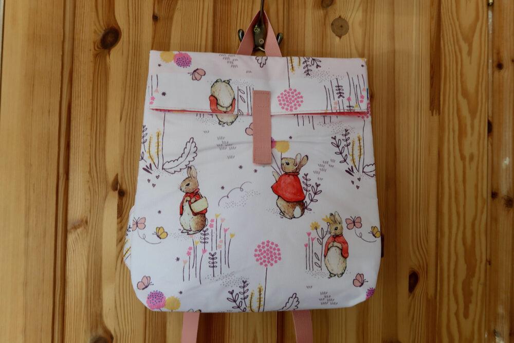 Flopsy bunny backpack