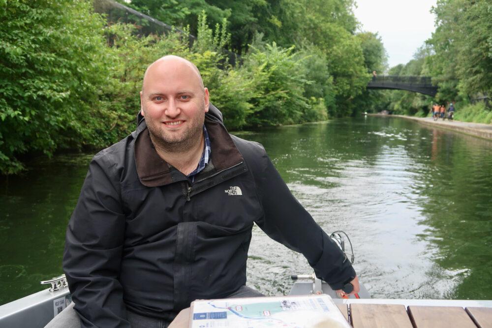 GoBoat Paddington John driving