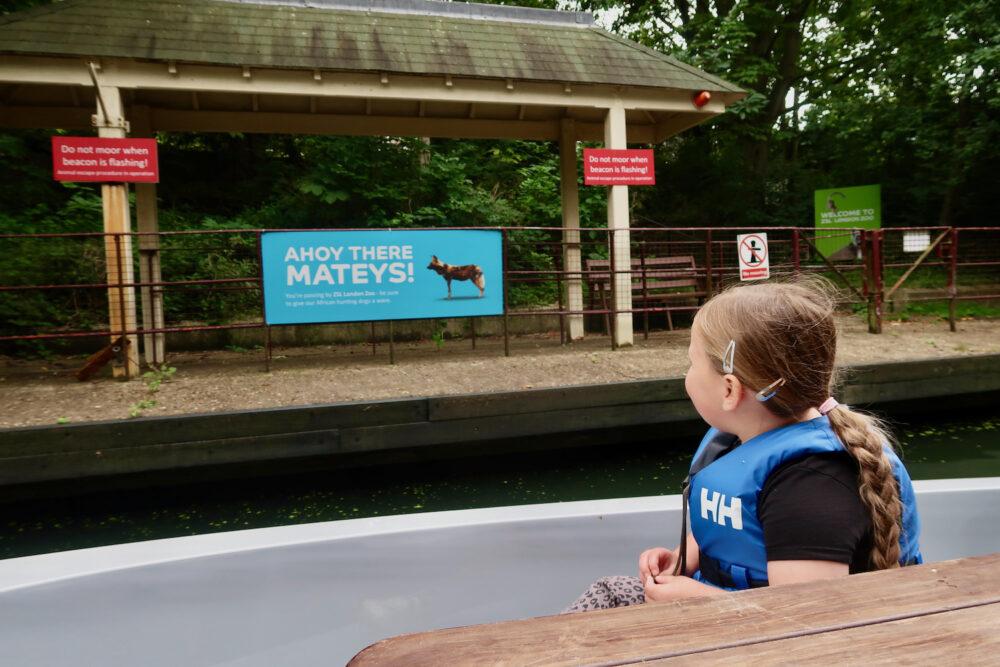 GoBoat Paddington London Zoo