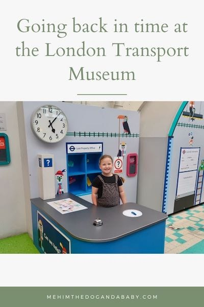 Going back in time at the London Transport Museum