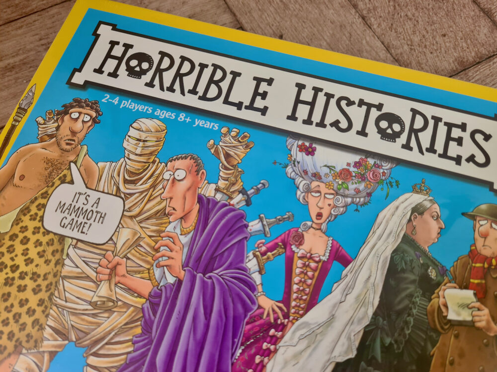 Horrible Histories The Board Game 1