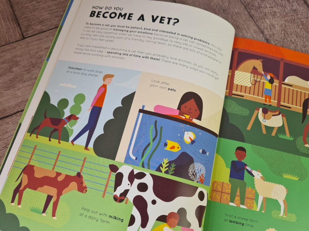How to be a vet and other animal jobs