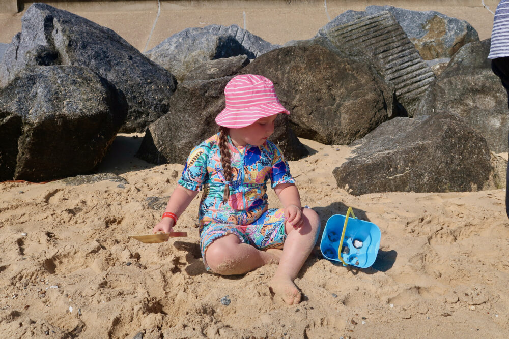 Potters Hopton beach