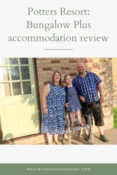 Potters Resort: Bungalow Plus accommodation review