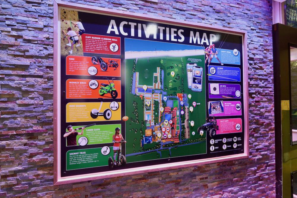 Potters activities map