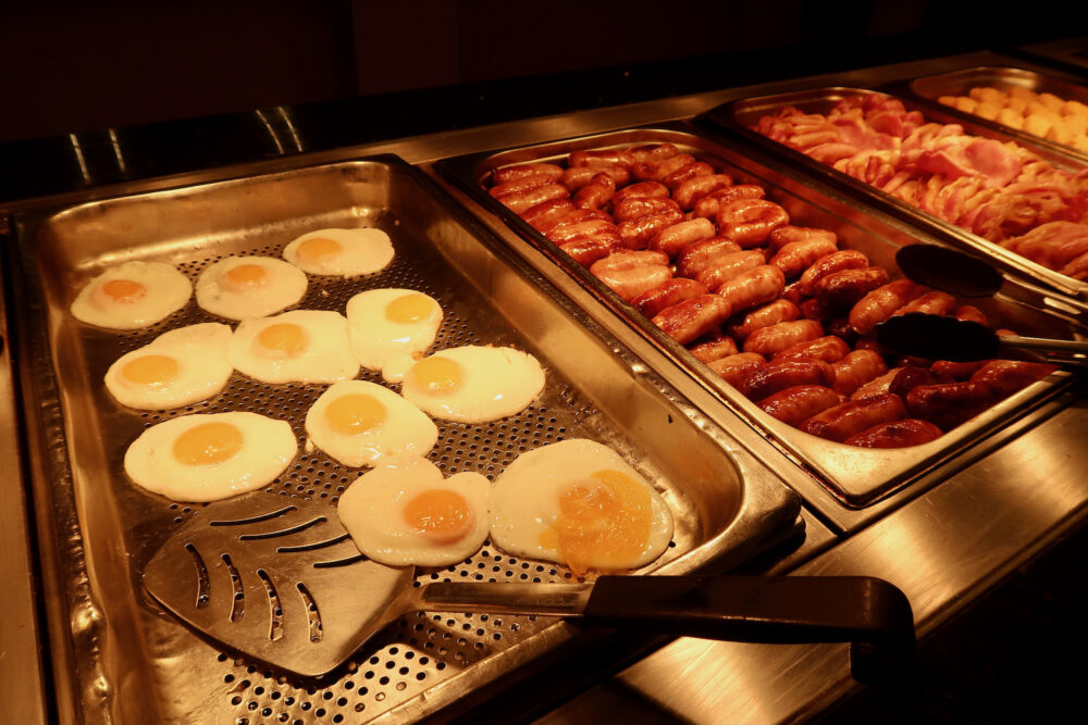 Potters breakfast