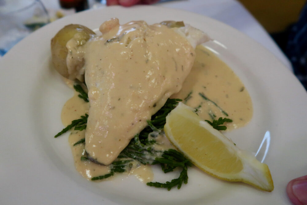 Potters haddock and potatoes