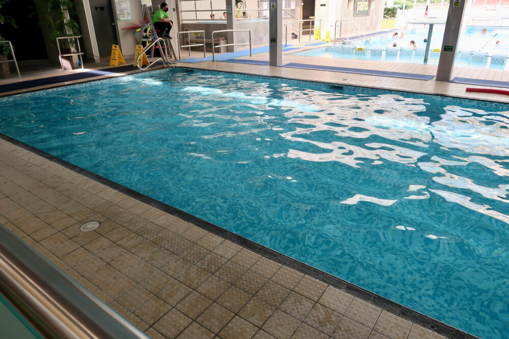 Potters swimming pool