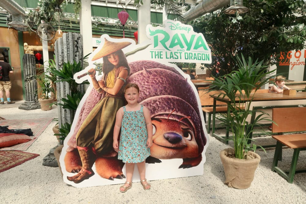 Raya and the Last Dragon photo at the summer of Disney Plus event