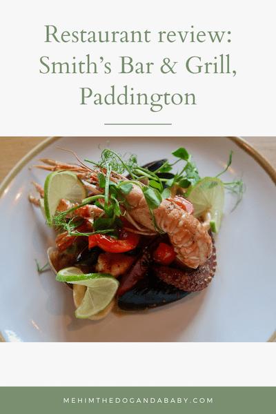 Restaurant review: Smith's Bar & Grill, Paddington