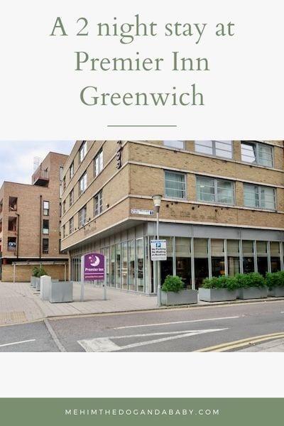 A 2 night stay at Premier Inn Greenwich