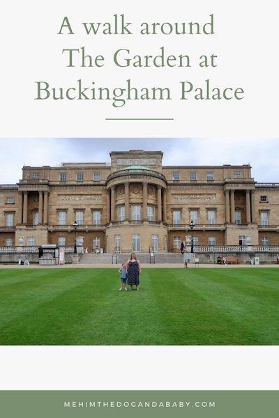 A walk around The Garden at Buckingham Palace