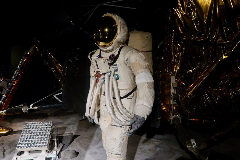 Astronaut suit at the Science Museum