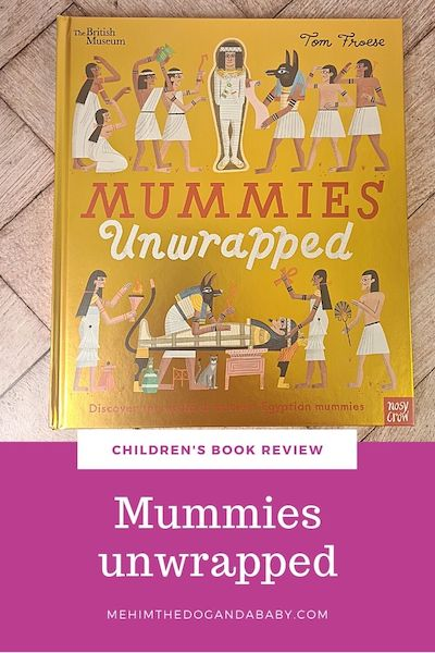 Children's book review: Mummies unwrapped