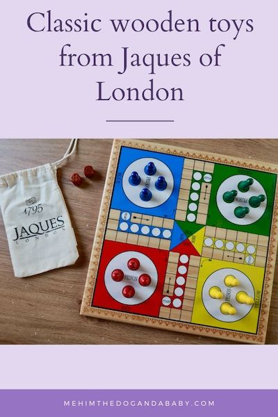 Classic wooden toys from Jaques of London