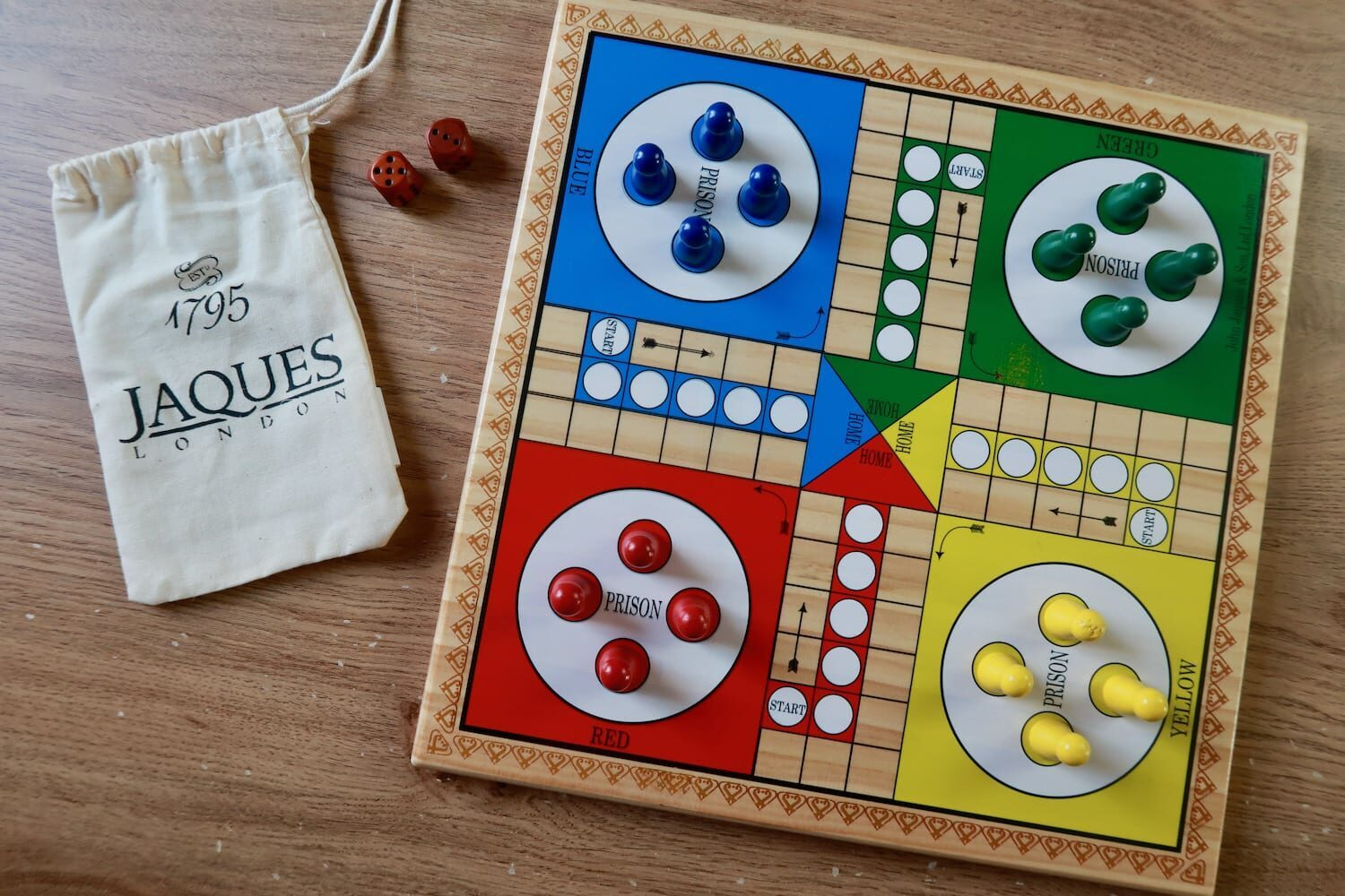 Jaques of London Ludo