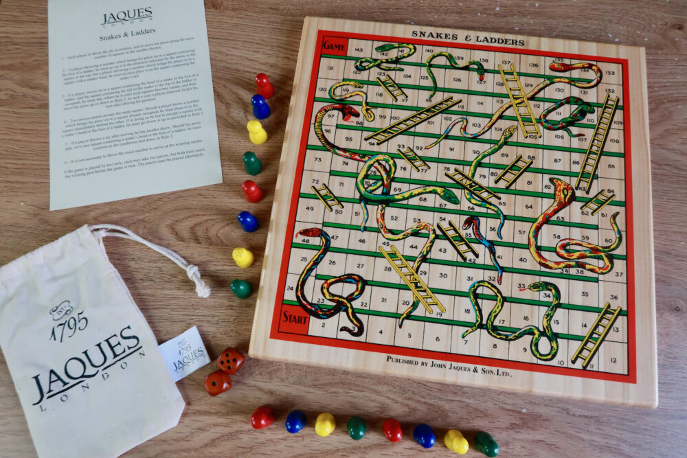 Jaques of London Snakes and Ladders