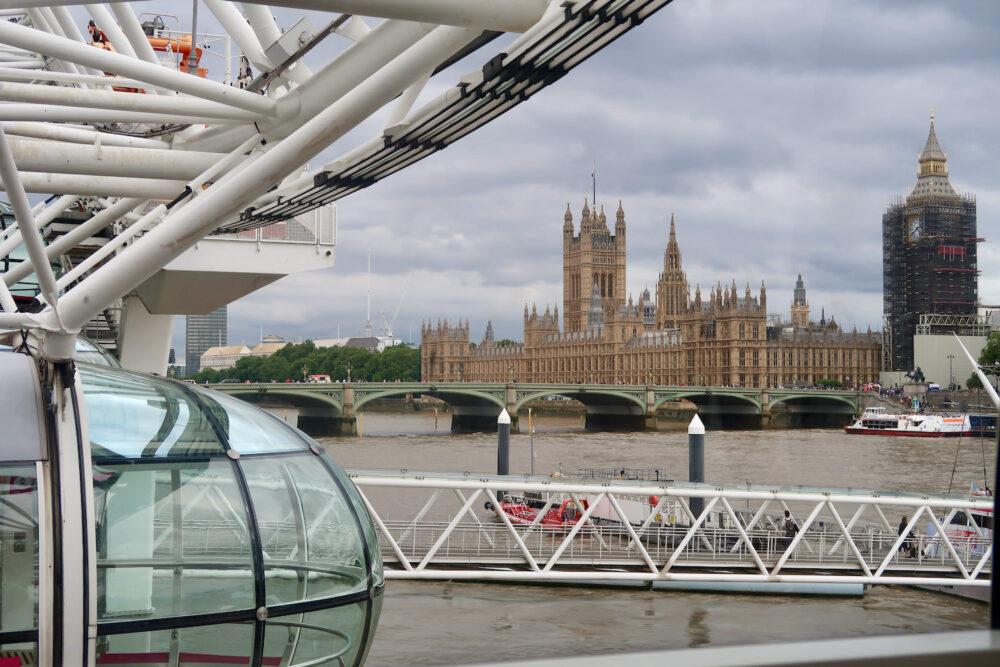 London Eye and pod