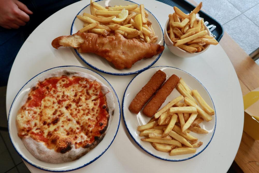 London Zoo lunch