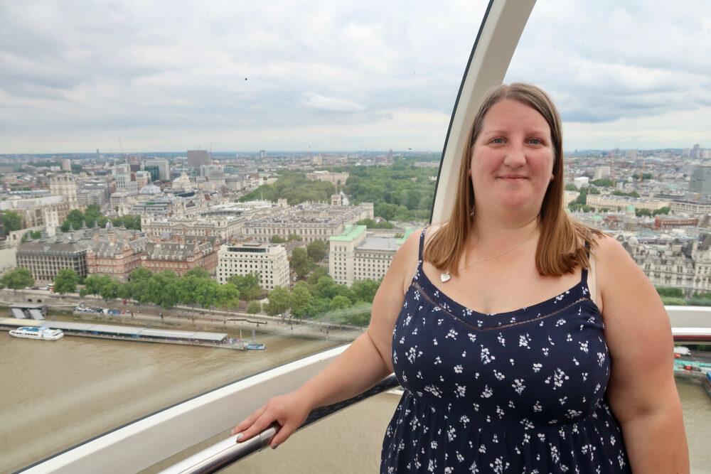 Me on the London Eye