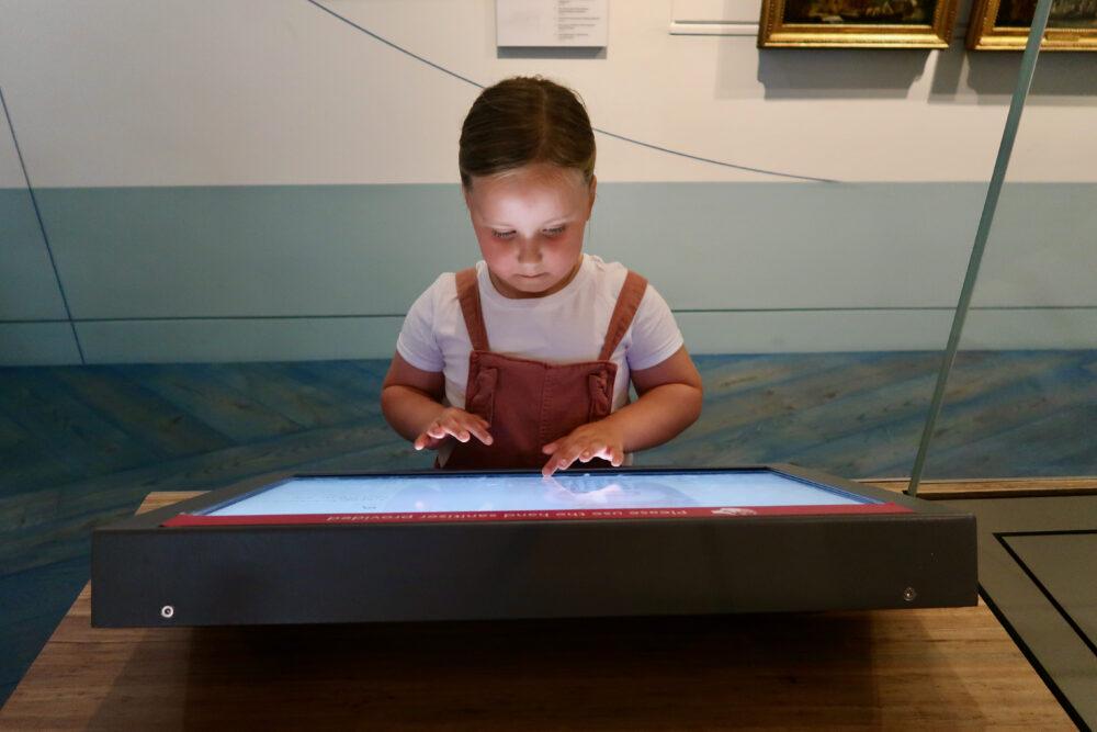 National Maritime Museum interactive element