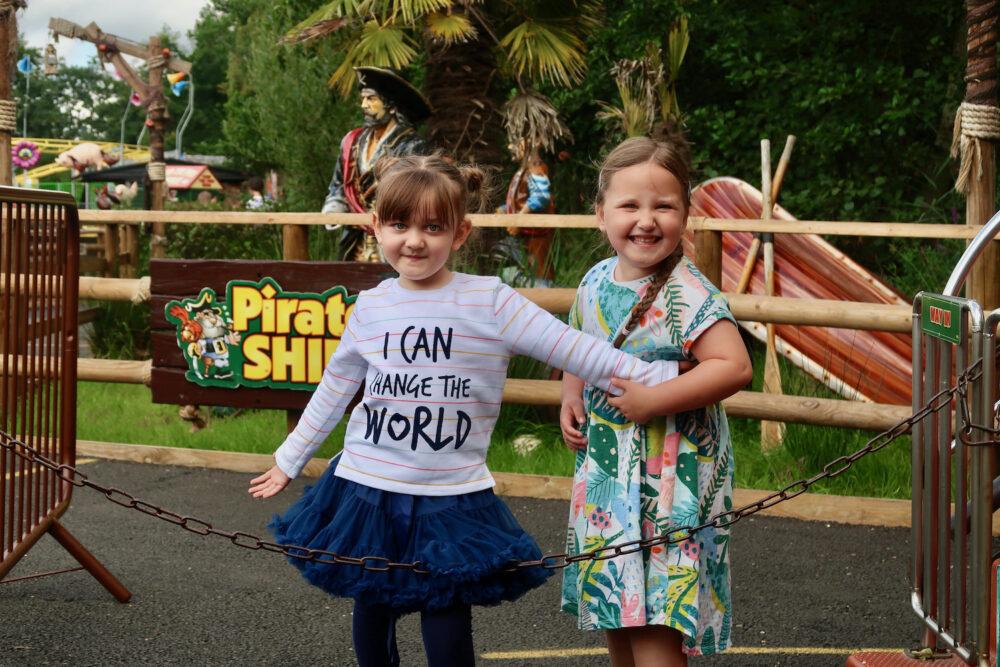 Pettitts Animal Adventure Park happy kids