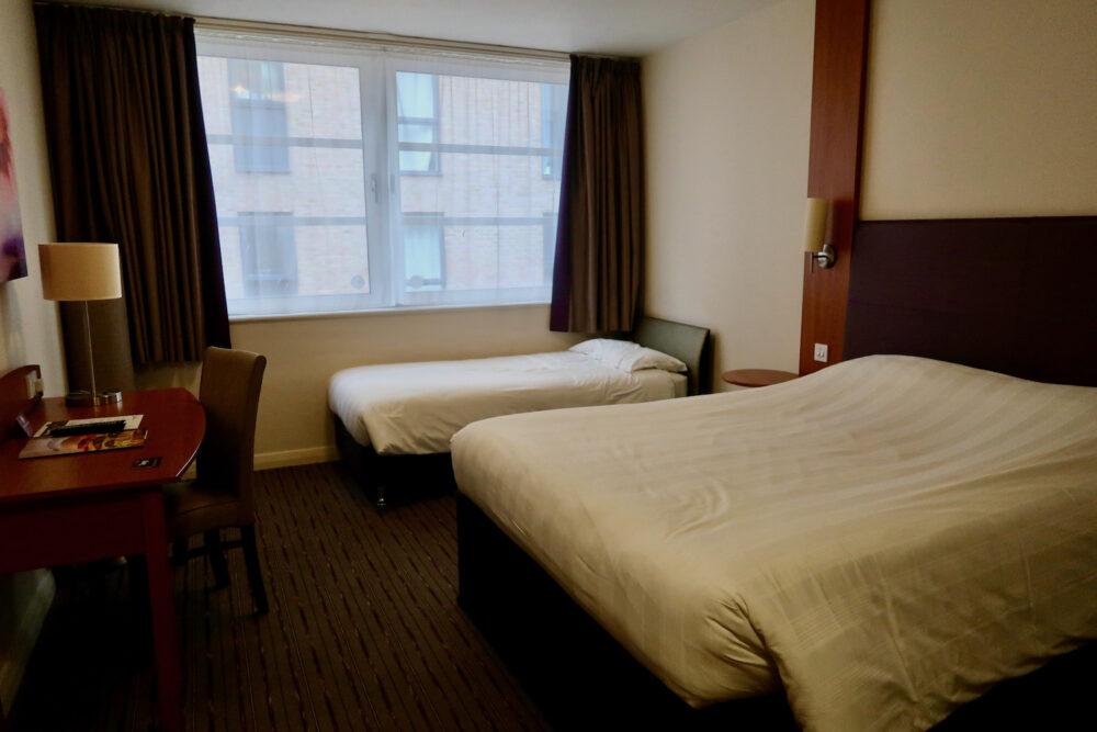Premier Inn Greenwich beds