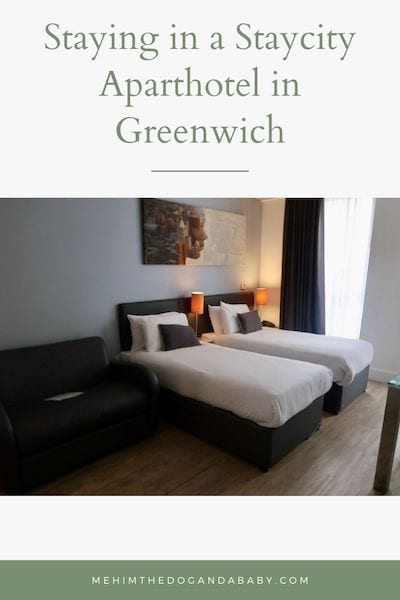 Staying in a Staycity Aparthotel in Greenwich