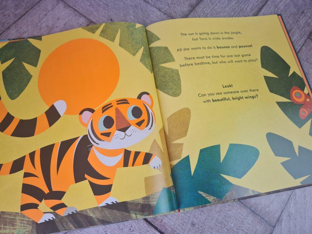 Tiptoe Tiger cover