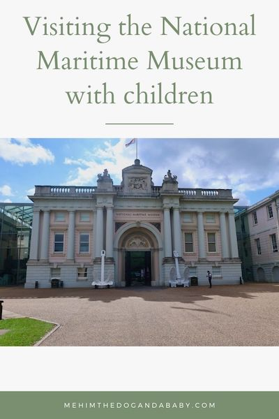 Visiting the National Maritime Museum with children