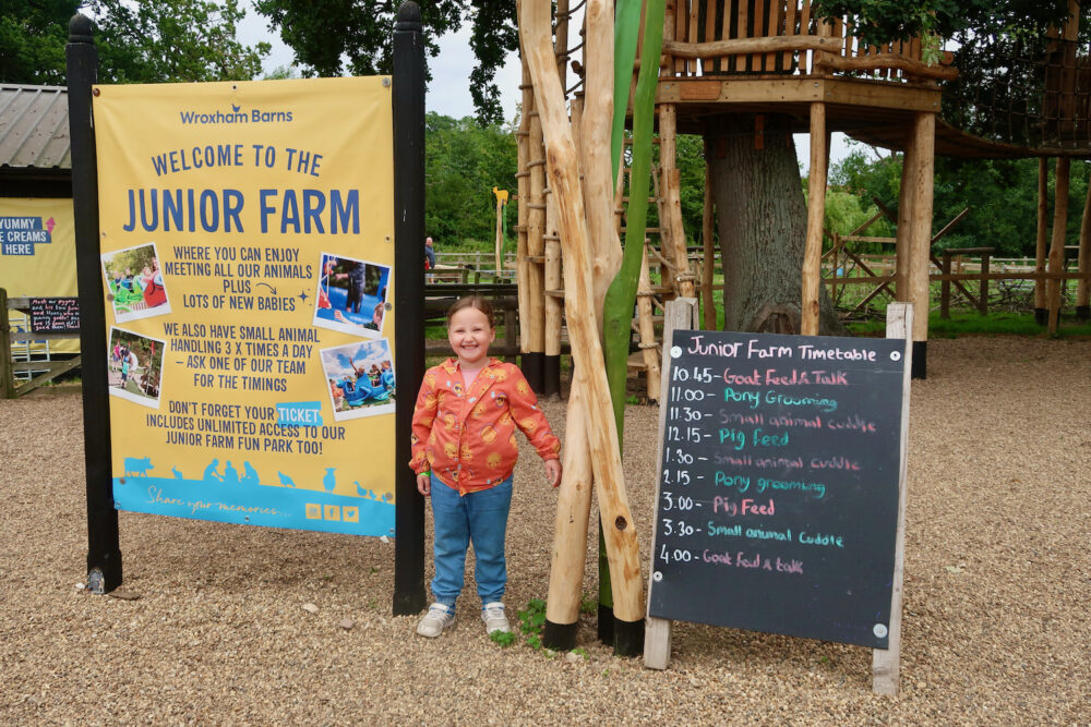 Wroxham Barns Junior Farm
