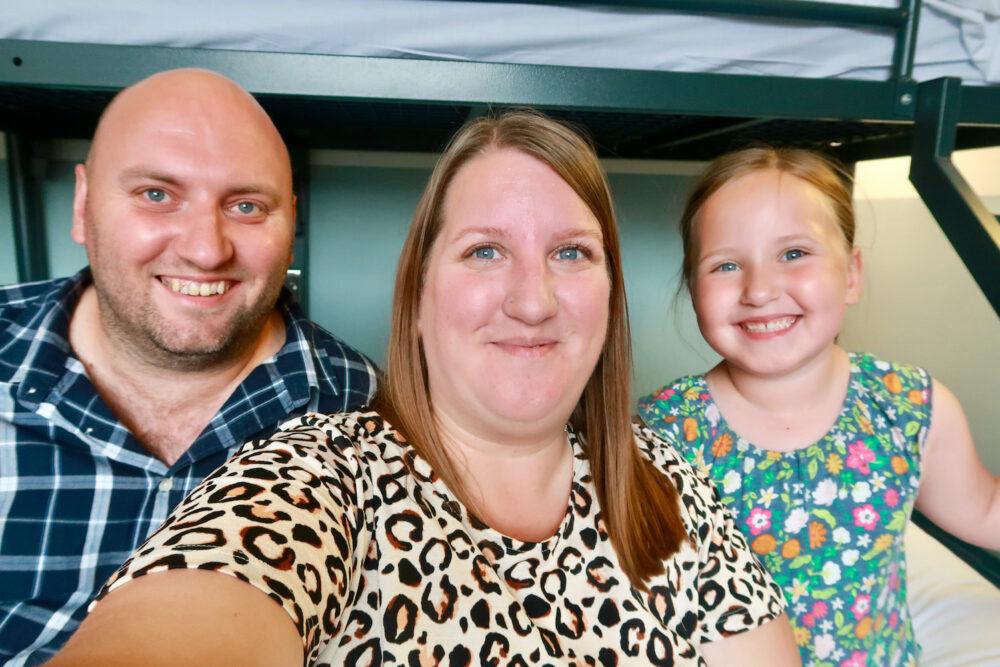 YHA St Pancras family photo