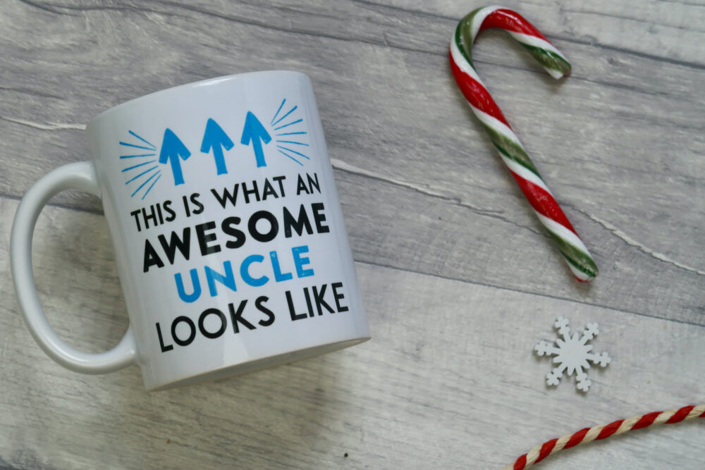 Awesome uncle mug from Printster