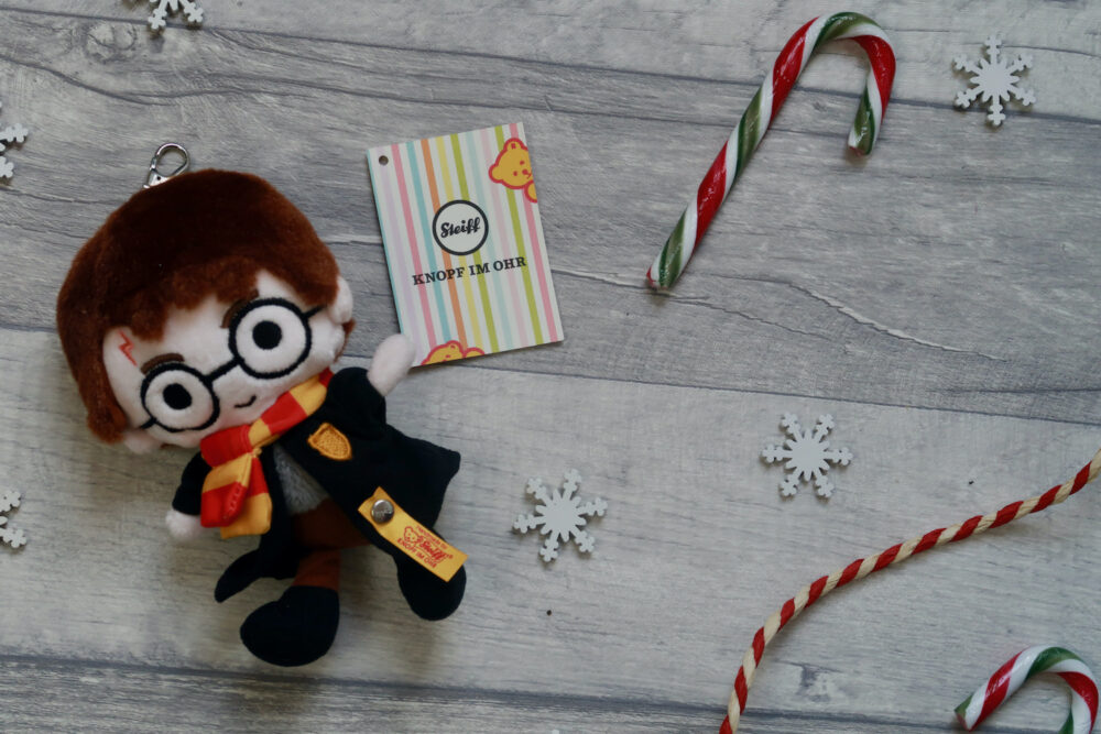 Harry Potter pendant keyring from Steiff