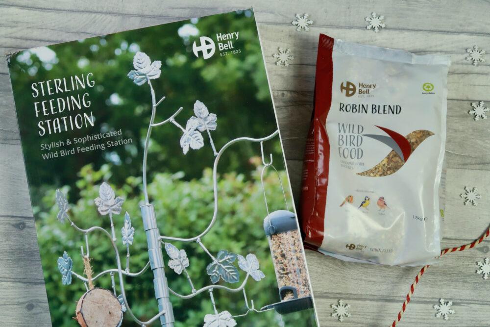 Henry Bell bird feeder and wild bird food