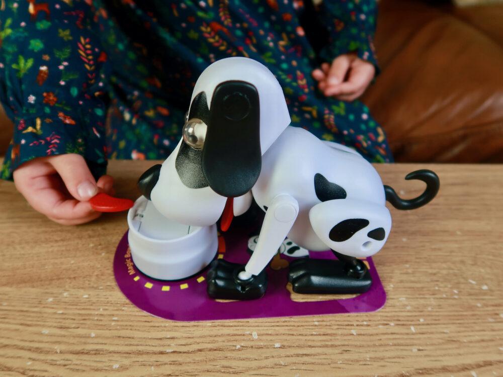 Kooky Kritters Playful Bailey bowl and feeding mat