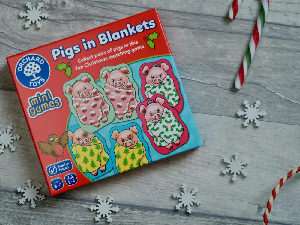Orchard Toys Pigs in Blankets game