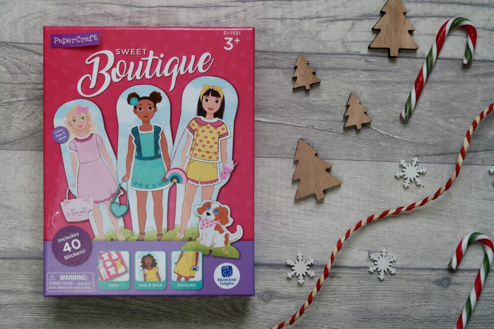 Papercraft Dolls Sweet Boutique