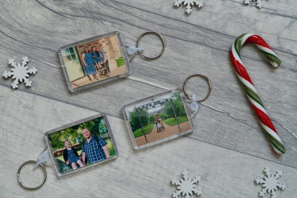 Photo keyring 3 pack from Printster