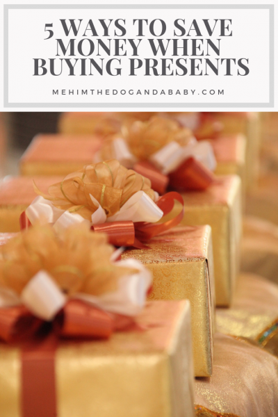 5 Ways To Save Money When Buying Presents