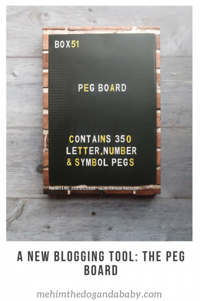 A New Blogging Tool: The Peg Board