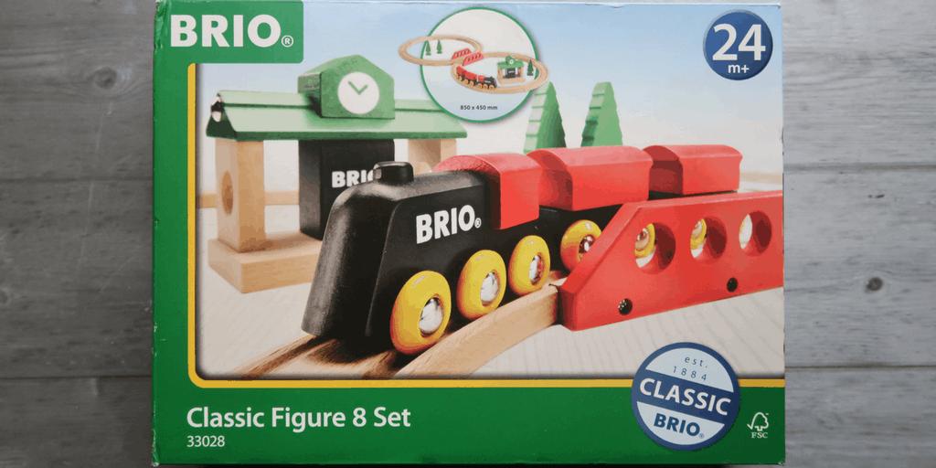 BRIO Classic Figure 8 Review