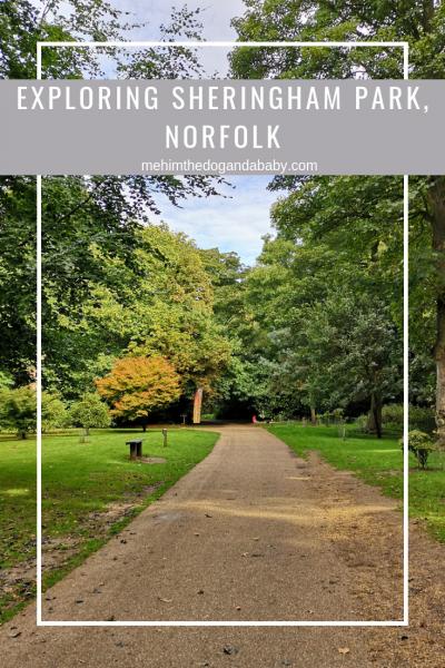 Exploring Sheringham Park, Norfolk