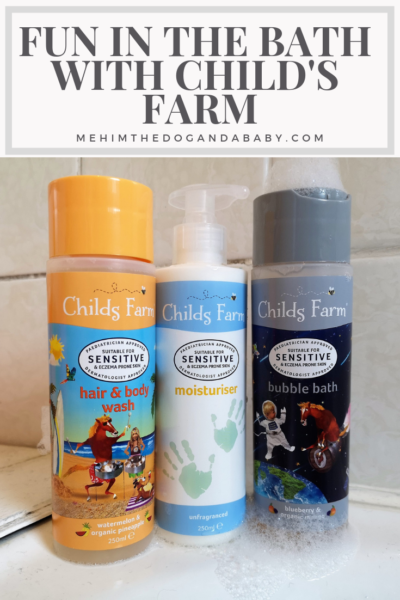 Fun In The Bath With Child's Farm