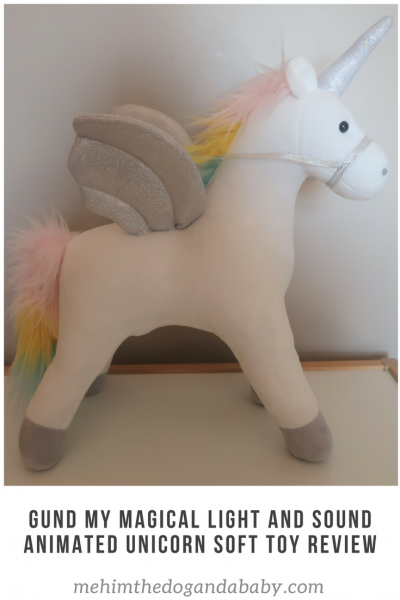 Gund My Magical Light and Sound Animated Unicorn Soft Toy Review