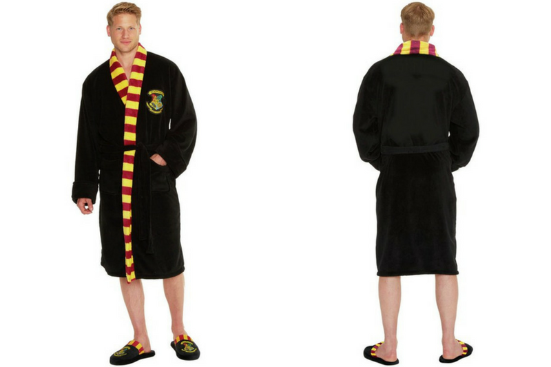 Harry Potter Hogwarts Dressing Gown