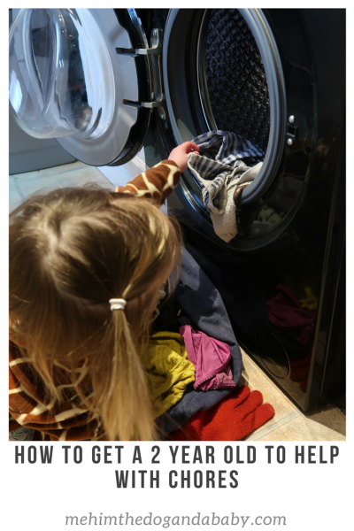 How To Get A 2 Year Old To Help With Chores