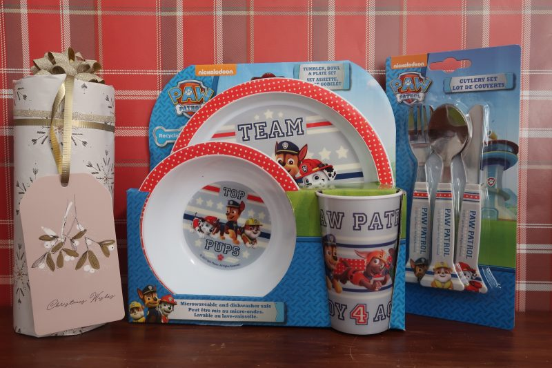 Paw Patrol Tumbler, Bowl & Plate Set and cutlery